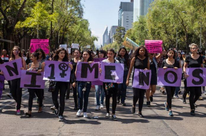 Protesta de mujeres
