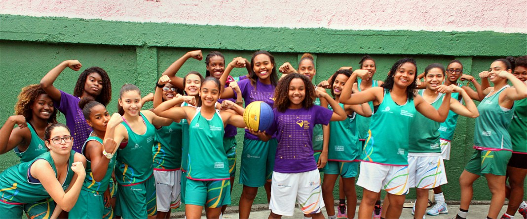 Niñas brasileñas