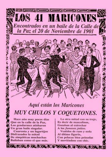 Cartel Maricones
