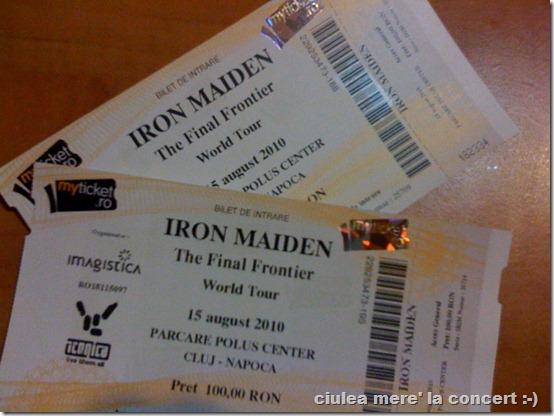 bilet iron maiden