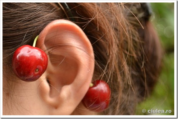 cirese dupa urechi