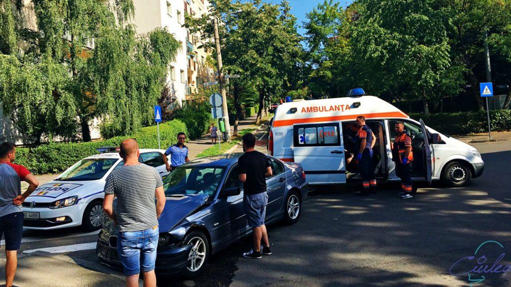 Accident Pasteur colț cu Viilor, Cluj-Napoca