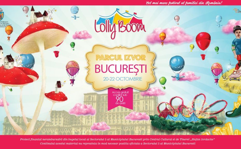 LollyBoom Bucuresti 2017