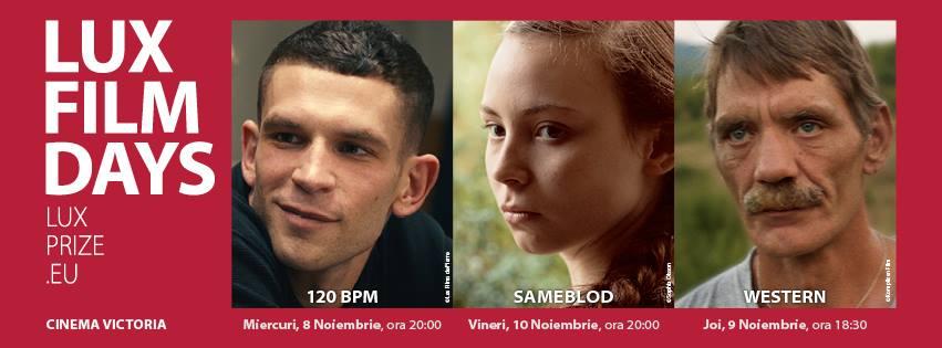 zilele filmului LUX Cluj