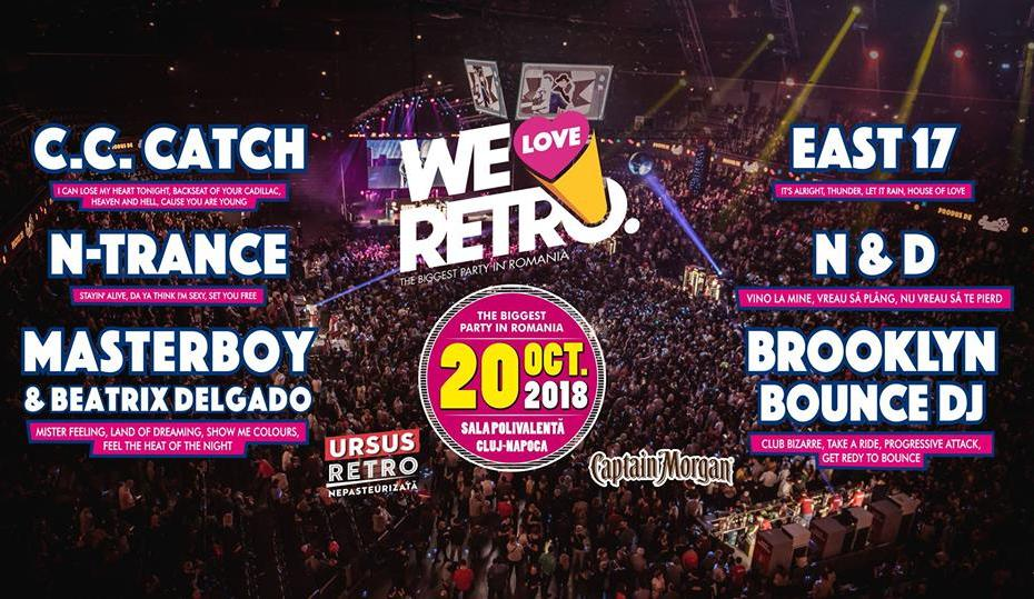 we Love Retro 2018 cluj