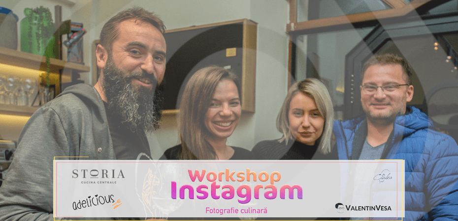 Workshop Instagram @ Storia Cluj