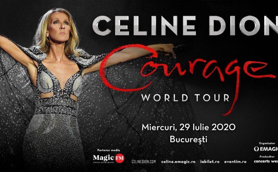 Celine Dion vine pentru prima dată în România