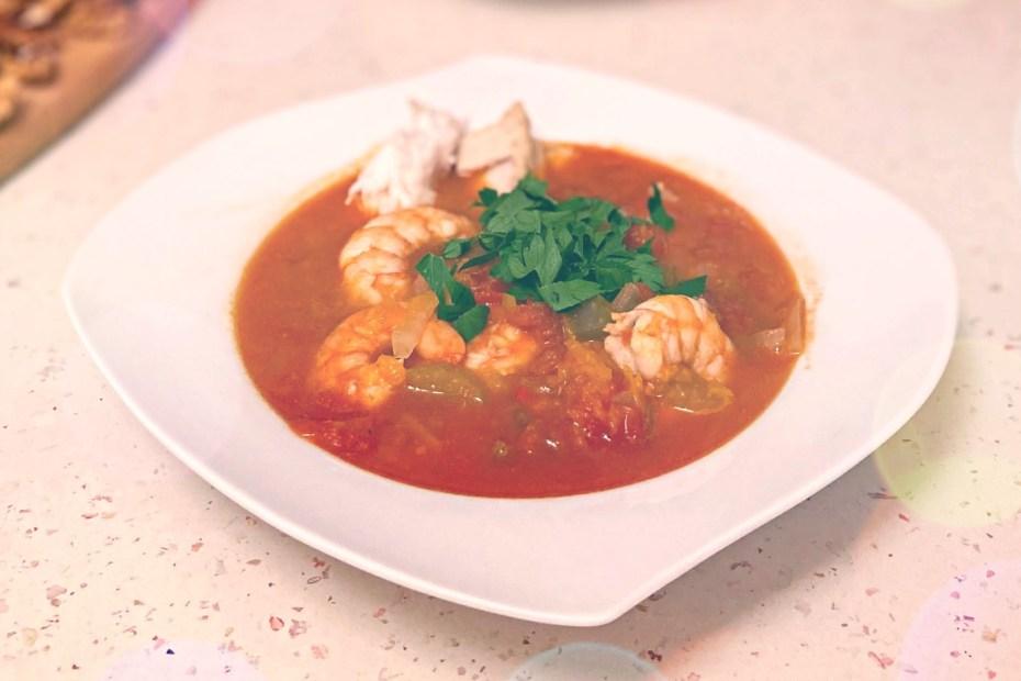 supă de pește siciliană