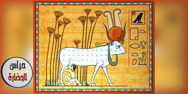 الإلهه أو المعبودة حتحور (بحث كامل بالصور)