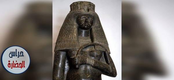 تمثال الملكة (تويا) زوجة الملك سيتي الأول