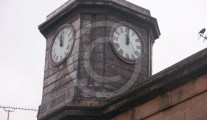 Cockermouth Court House clock