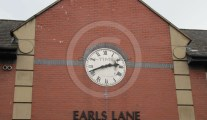 Earls Lane clock, Carlisle