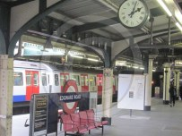 Edgware Road Tube Station - clock