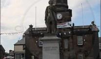 Lochmaben Town Hall clock