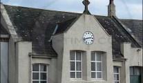 Allonby Village Hall clock, Cumbria