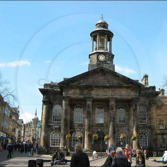 Lancaster Museum Clock, Lancashire.