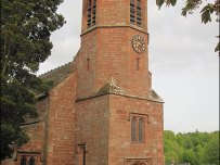 Wetheral Church clock, Cumbria
