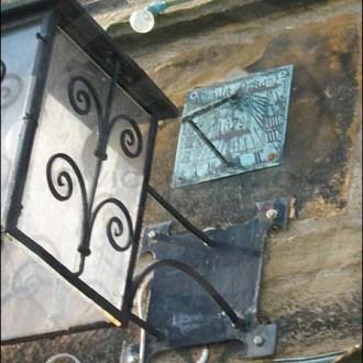 Sundial on Leonard Cheshire Home, Marske