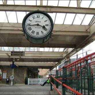 Carnforth Railway Station Clock