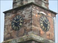 Annan Old Parish Church clock