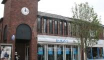 Barrow town centre clock