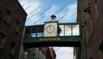 Booths supermarket clock, Preston