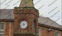 Ormskirk market clock