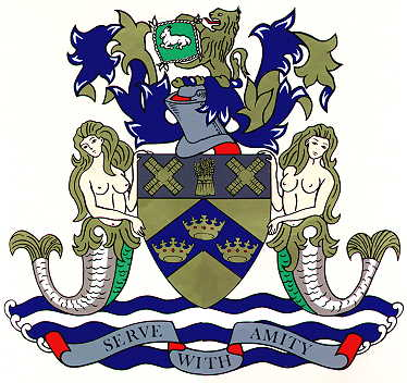 Arms of Boston Borough Council, England