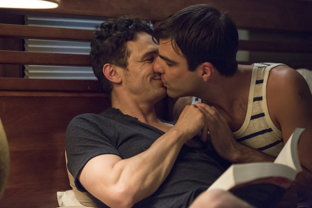 "Le prime immagini del film ""I Am Michael"", con Zachary Quinto e James Franco"