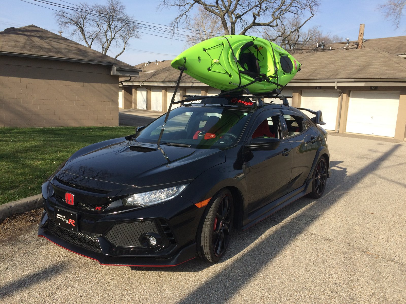 honda civic bike roof rack