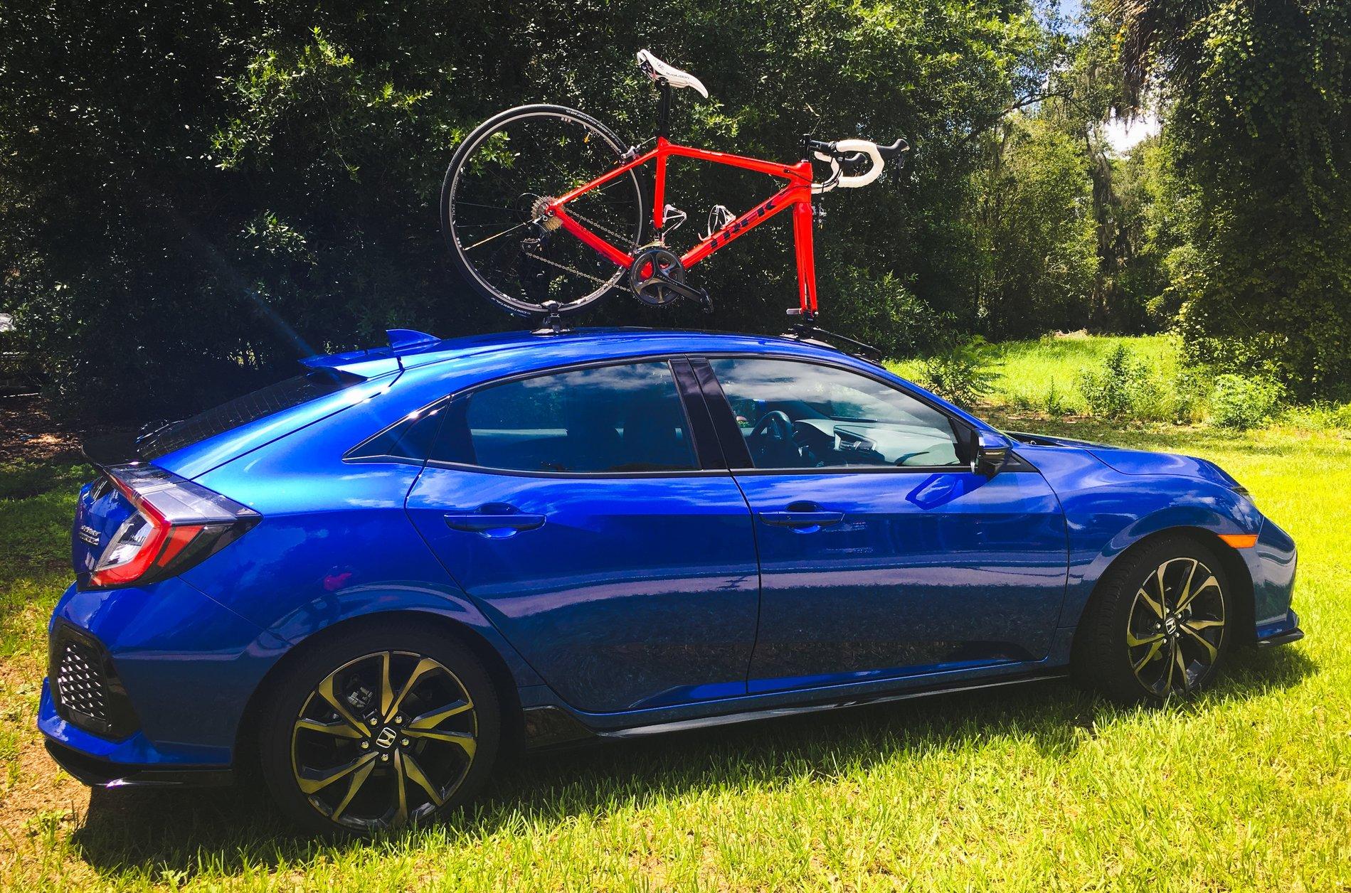 honda civic hatchback bike rack