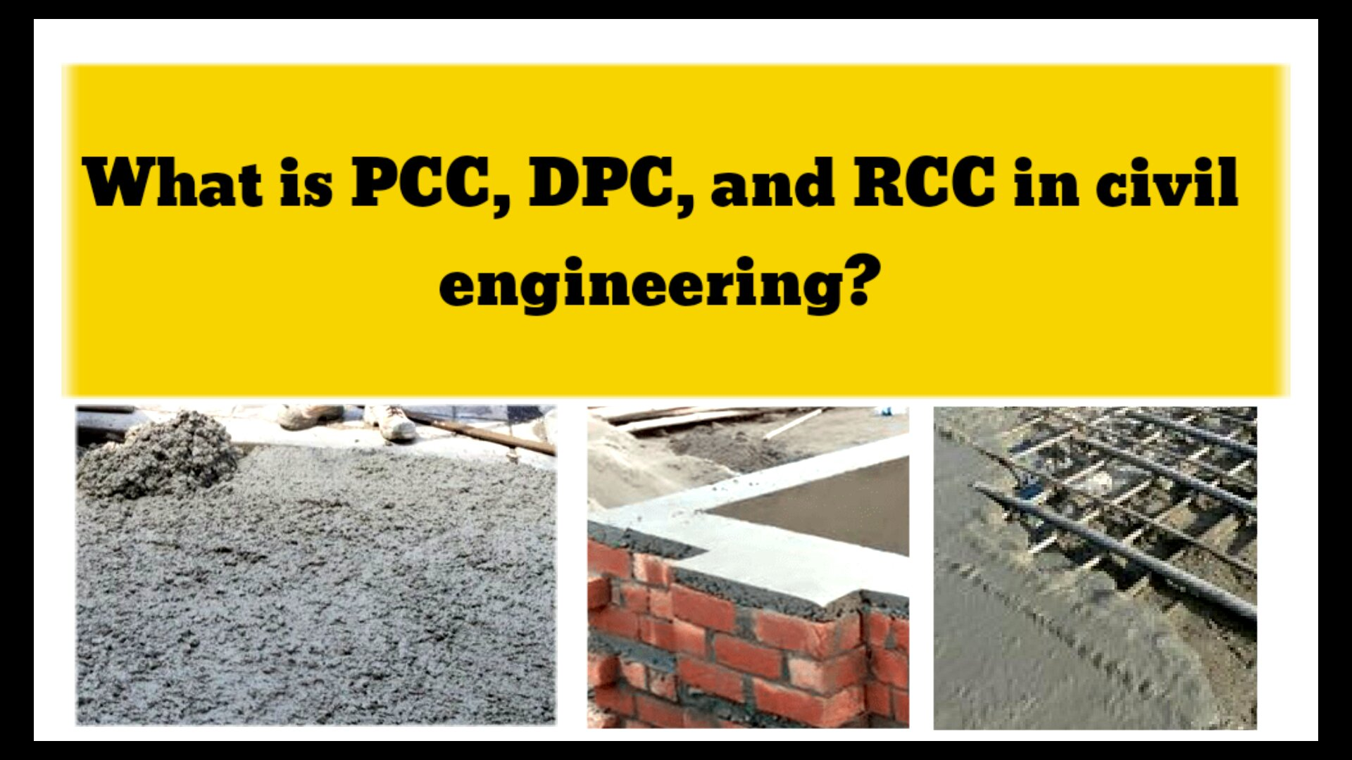 What is PPC DPC and RCC