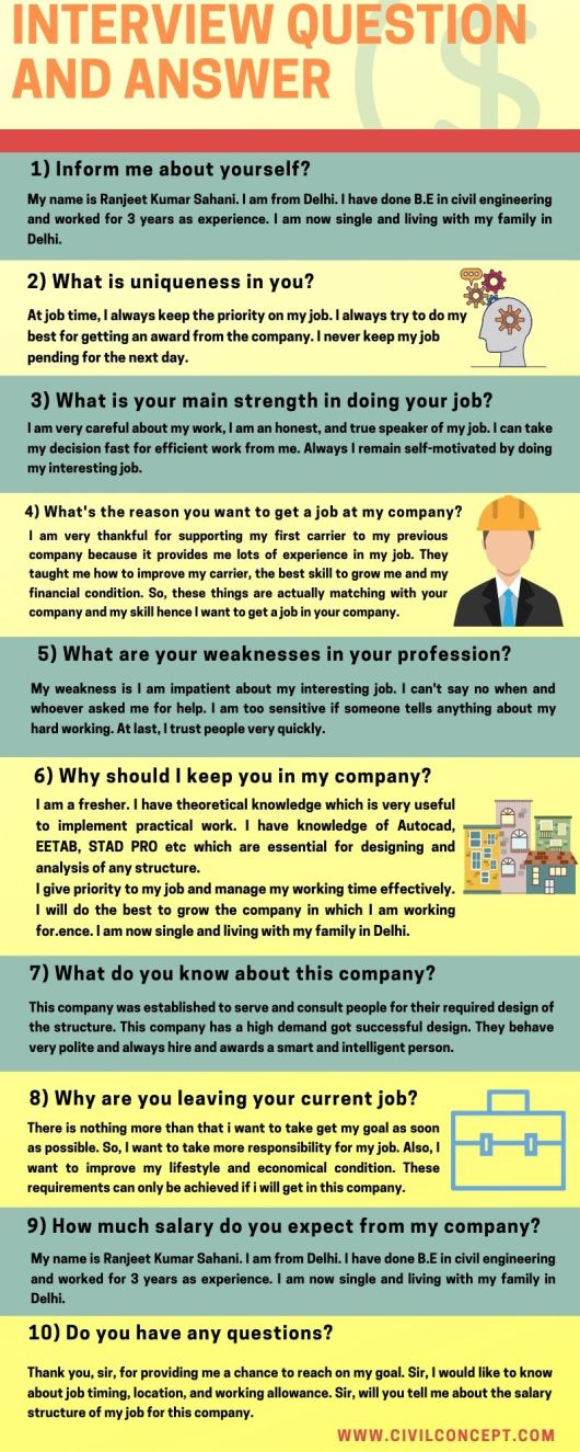 job interview question and answer