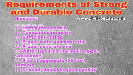 durability of concrete structure