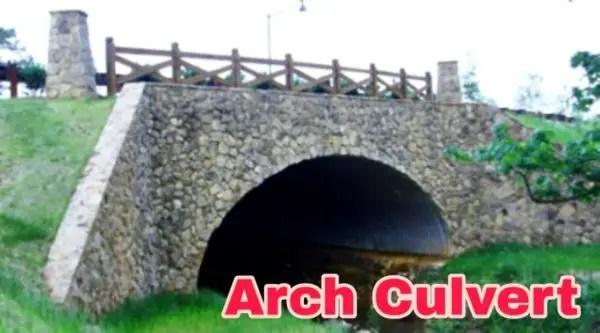 Arch Culvert, Types of Culvert