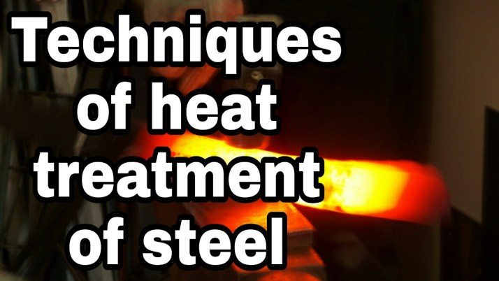 Different techniques of heat treatment of steel - Civil concept