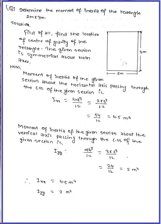 Moment of inertia formula | Definition for moment of inertia