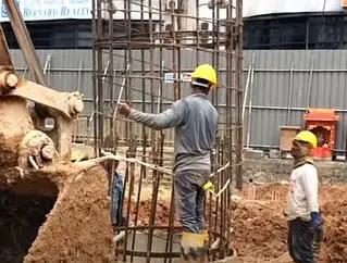 Types of bridge foundation