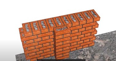 How to calculate bricks in a wall pdf