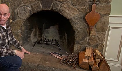 How to build a fireplace