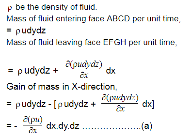 Equation of Continuity   Derivation of continuity equation in cylindrical coordinates