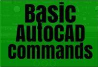 basic autocad commands