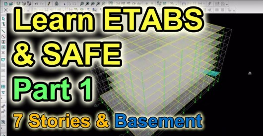 Learn Etabs and safe Free Video Tutorials