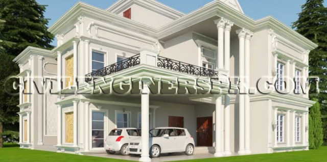 12 Marla House Plans for Azad Kashmir