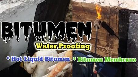 Bitumen Waterproofing Methods