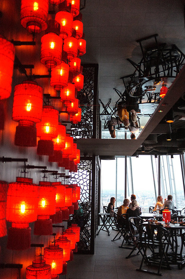 Dining Rooms With A View Aqua Shard And Hutong London