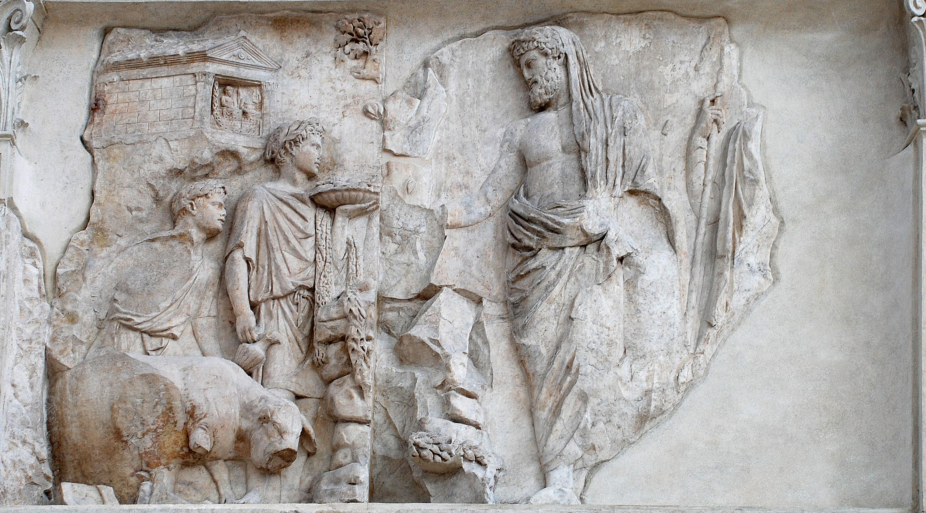 Image result for Ancient Roman friendship frieze