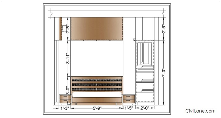 Bedroom Elevation Design