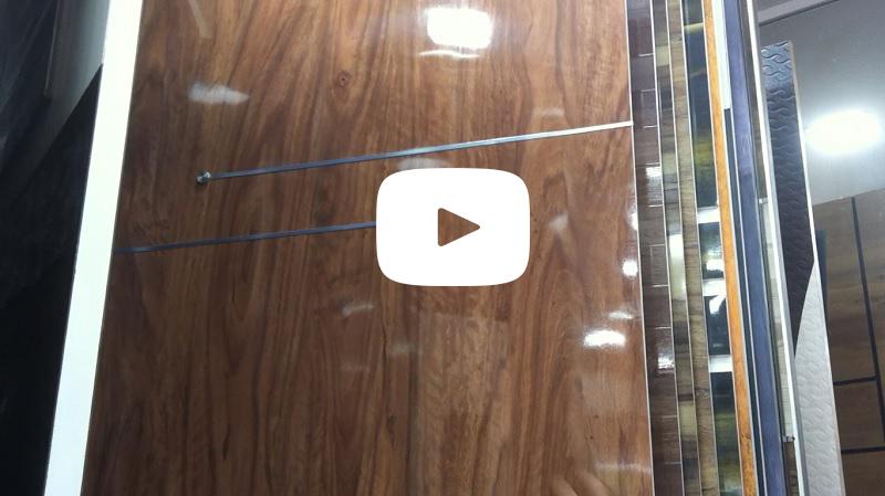 Normal Laminate VS PVC Laminate