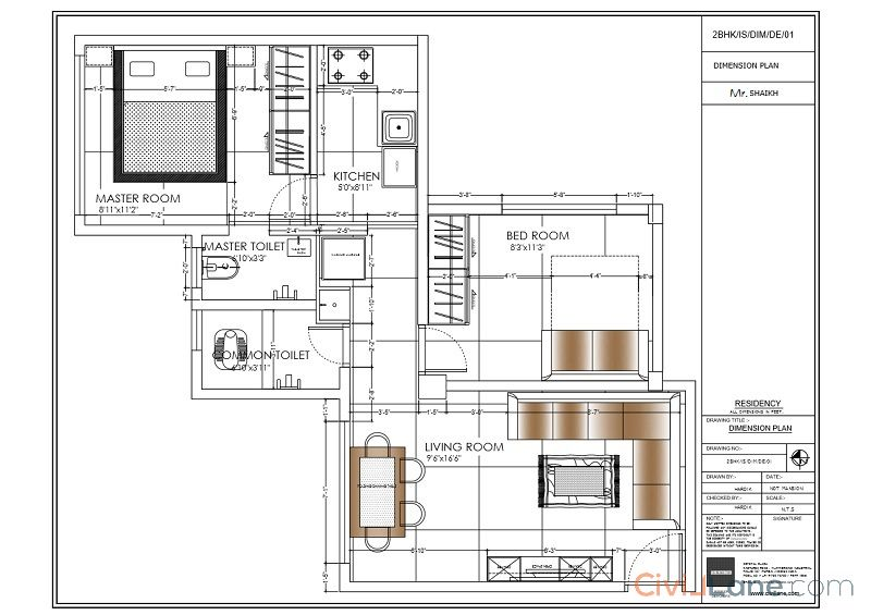 1 bhk converted into 2 bhk